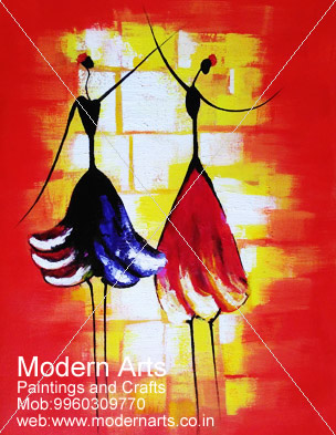 Modern Arts Paintings & Crafts do Canvas Painting in Pune & Mumbai