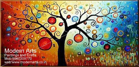 ... Acrylic Canvas Moern Art Painting In Pune U0026 Mumbai · Oil Canvas Modern  ...