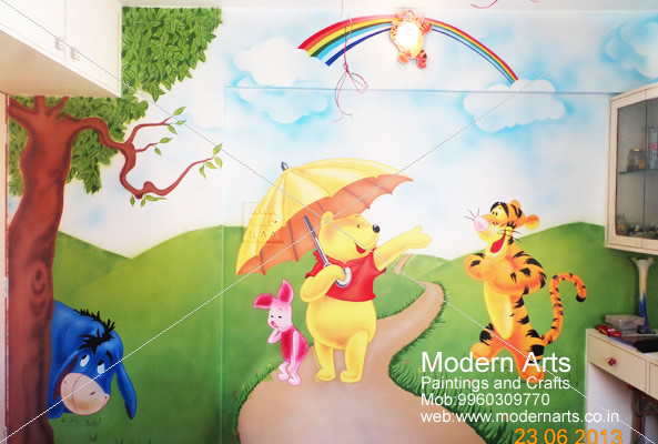 Modern Arts Paintings Crafts Specialize In Kids Room Wall