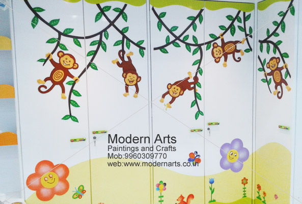 3d Wall Painting For Kids Bedroom Pune Mumbai