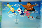Wall painting artist for play school in pune