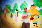 Wall painting artist in pune for school