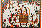 Warli painting design in pune