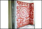 Wall warli painting artist in pune