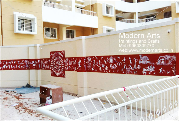 modern arts paintings crafts does warli paintings in pune mumbai